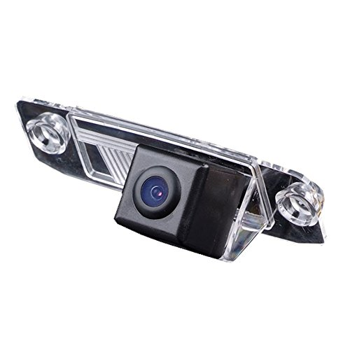 Navinio Backup Camera for Car, Rear-view License Plate Car Rear Reverse Parking Camera for for Hyundai Sonata/KIA Cerato/Forte K3/Sirento E/Sorento MX/Chrysler Sebring 300C (HD camera)