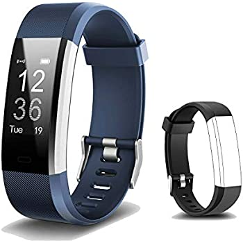 Amazon Com Smart Band Heart Rate Monitor Fitness Activity Tracker