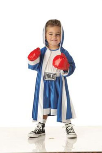 Everlast Boxer Boy's Costume, Medium (T3-4), One Color (Fancy Dress Boxing Gloves)