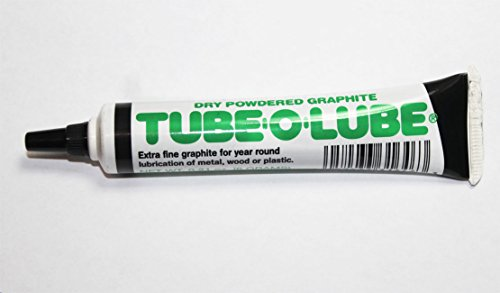 (Dry Powdered Graphite Tube-O-Lube for metal wood or plastic)