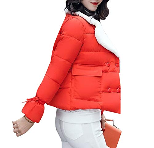 Arancione Il Brumal Modo giù Donne Xinheo Girano Avvolgere Caldo Di Rivestimento Cappotto xOw1Oq0tP