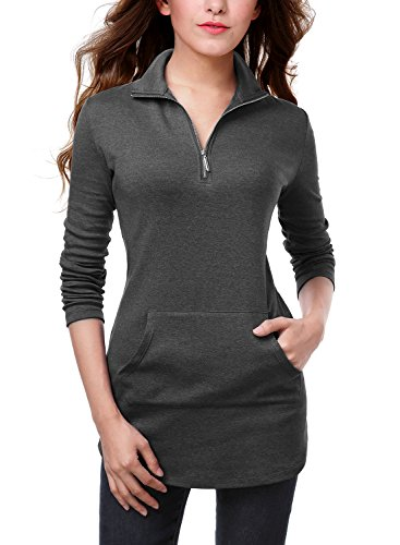 DJT Womens Half Pocket Tunic