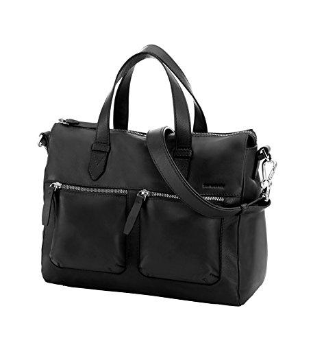 Samsonite Mover LTH Boston Messenger Bag, 32 cm, 20 Liters, Black (Boston Messenger Bag)