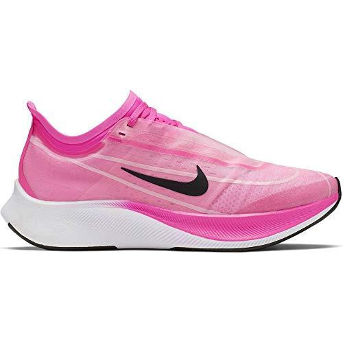 Nike Women's Zoom Fly 3 Running Shoe (8.5 M US, Pink Blas/True Berry)