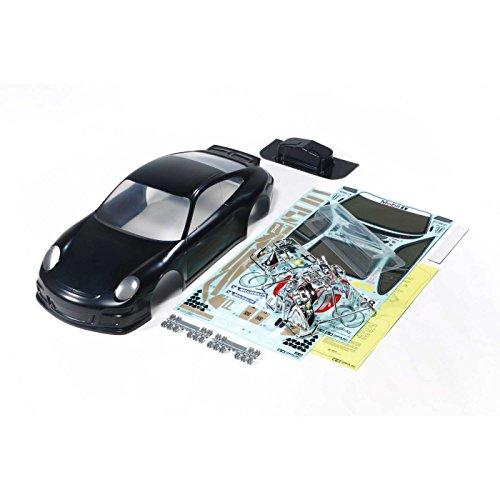 Tamiya America, Inc Porsche 911 GT3 Cup VIP 2007 Body Set Black, TAM47365