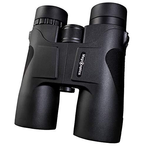 Cheap Magicoptics 10×42 Professional Binoculars Adults Strap Carry case, Compact Lightweight,HD Binoculars Bird Watching Travel Hunting Concerts Sports