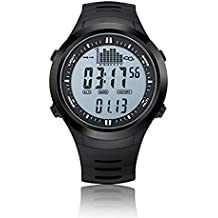 Spovan SPV709 Multifunctional Sports Watch Mountaineer Altitude Barometric Pressure Temperature Fishing Waterproof Sport Wristwatch White