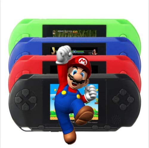 Stock Handheld (US Stock! Game Console Handheld Portable 16 Bit Retro Video Free Games Christmas Year Gift for Baby Boys and Girls (Black))