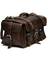 Saddleback Leather Side Pocket Duffel - Best Carry On, Travel Duffel Bag