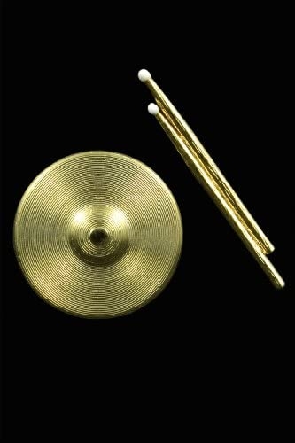 Drumsticks/Cymbal Combo Pin