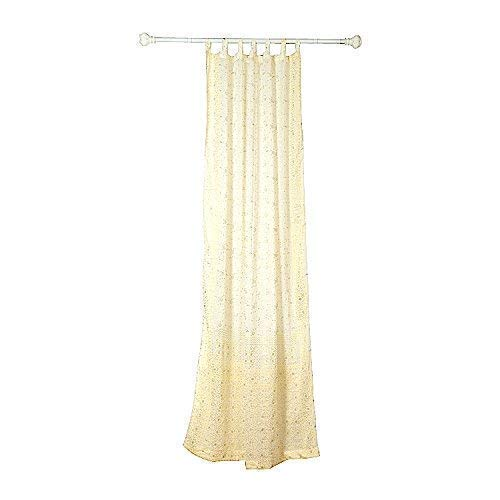 WHITE CURTAIN Window Treatment Draperies over 20 colors Boho Sari panel 108 96 84 inch for bedroom living room dining room bridal yoga studio canopy tent Off White Cream Ivory Silver W GIFT bag