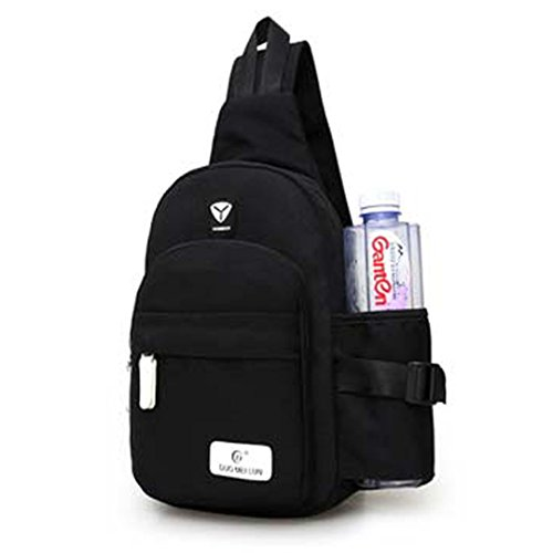Shoulder Black Holder Bottle Bag Water Bag with Crossbody Versatile Chest Women Cuddty qPvOXv