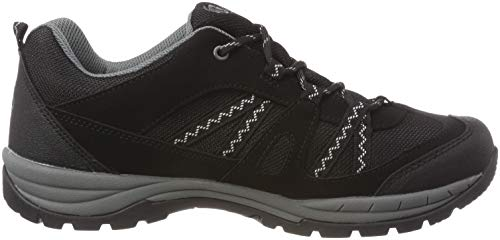 Grau Rise Bruetting Grau Fresno Negro de Zapatos Schwarz Adulto Unisex Low Schwarz Senderismo xwB7Uw
