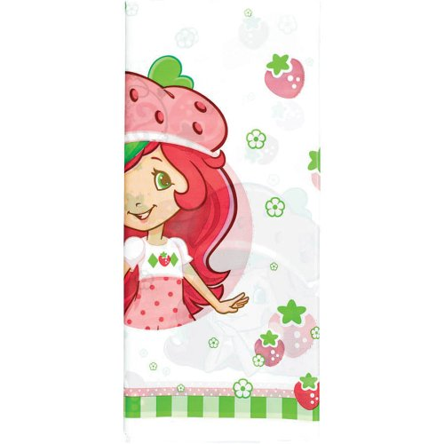 Strawberry Shortcake Party Plastic Table Cover - Party Supplies - 1 per Pack (Shortcake Strawberry Table)