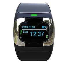 Waterproof dual Bluetooth waterproof smart watch with healthy care dynamic heart rate, ECG, Blood pressure, sleep monitor