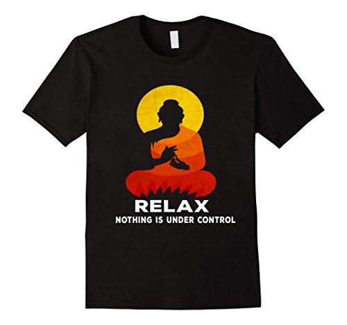 Mens Buddha Quote T-Shirt, india hindu shanti T shirt XL Black by Buddha T Shirt