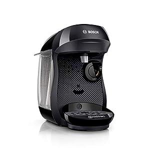 Bosch TAS1002 Tassimo Happy Cafetera, 1400 W, 0.7 litros, Plástico, Negro 41gqc 2B0qu 2BL