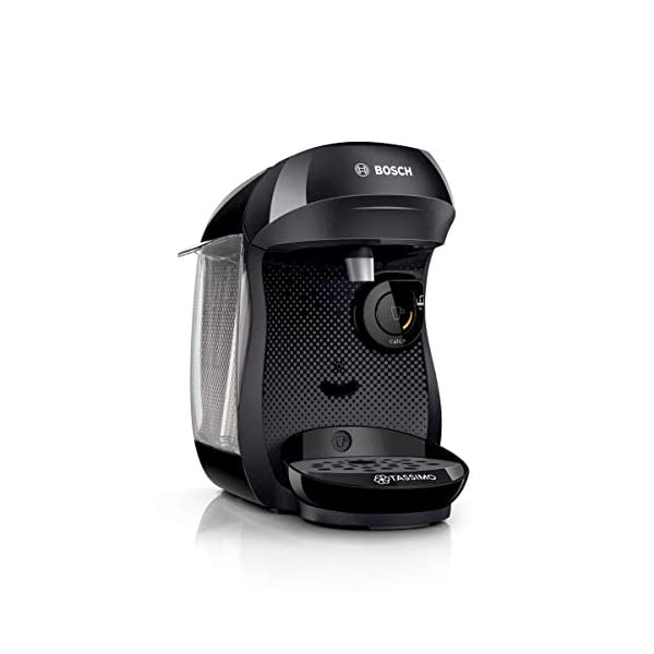 Bosch Tassimo Happy Cafetera monodosis multibebida, 1400 W, 0.7 litros 41gqc 2B0qu 2BL