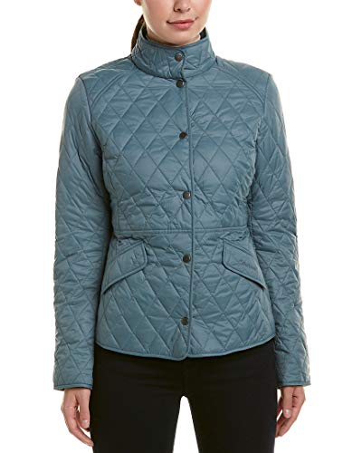 Barbour Womens Annis Quilted Jacket, 14, Green from Barbour