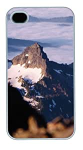 awesome iphone 4S covers landscapes nature snow mountain 15 PC White for Apple iPhone 4/4S