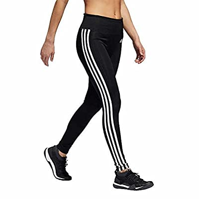 adidas Womens 3 Stripe Active Tights Black X-Large