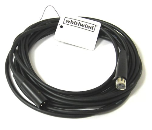 Brand New Whirlwind EMC20 20 Foot XLR female to XLR male microphone cable 20' Whirlwind Xlr Cable