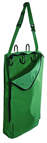 Derby Originals Halter Bridle Carrier Bags with Swivel Hooks, Hunter Green ()