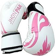 JP Kids Boxing Gloves - 4oz / 6oz Maya Hide Leather, Child Friendly Design with Velcro Closure System for Spar