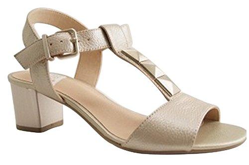 platino SWEET Zapatos de corte de mujer 1qPxfZ