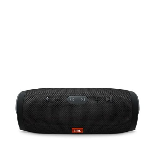JBL Charge 3 Waterproof Portable Bluetooth Speaker (Black)
