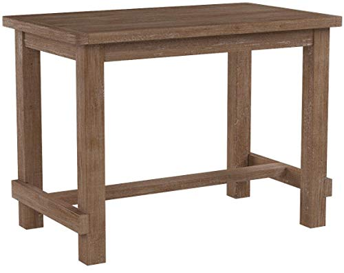 Ashley Furniture Signature Design - Pinnadel Counter Dining Table - Weathered Brown Finish w/ Gray Undertones by Signature Design by Ashley (Image #11)