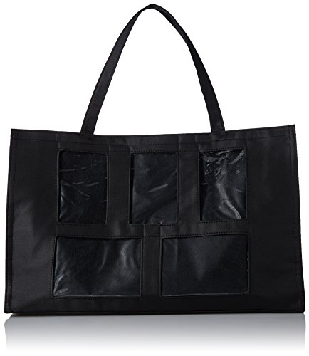 - Darice Photo Tote Bag - 5 Windows - 12x19 - Black
