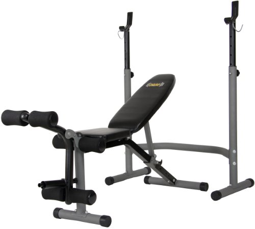 Body Power BCB3890 Olympic Width Weight Bench System by Body Power