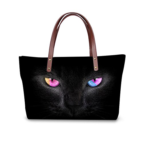 Bags V6lcc3078al Women Animals Print Shoulder Handbags FancyPrint Handle Top Satchel wtOTd