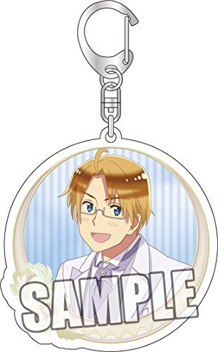 Hetalia The World Twinkle reversible acrylic Keychain