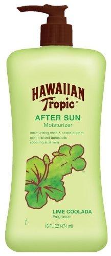 Hawaiian Tropic Lime Coolada After Sun Moisturizing Lotion,