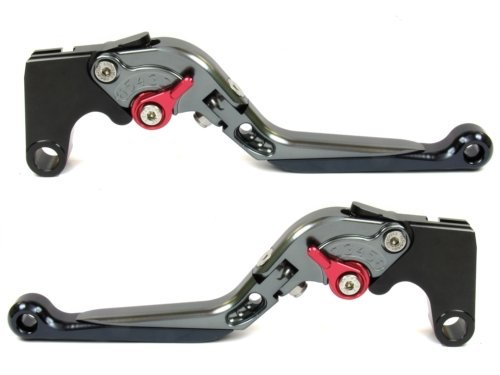 Extendable Folding Brake and Clutch Levers for BMW R NINET 2014-2016,BMW R1200R R1200RS 2015-2018,BMW R1200RT 2014-2018,BMW R1200GS (LC) 2013-2018,BMW R1200GS Adventure LC - Arm Swing Pivot Billet
