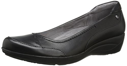 Hush Puppies Womens Kellin Oleena Slip-On Loafer Black