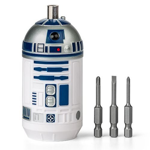 Star Wars R2D2 Screwdriver With 3 Forged Steel Bits Think Geek