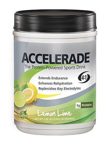 Pacific Health Accelerade, Net Wt. 2.06 lb., 30 serving, Lemon Lime