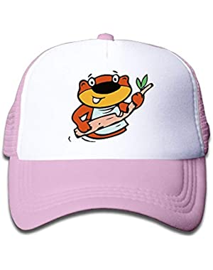 Beaver Cute On Boys and Girls Trucker Hat, Youth Toddler Mesh Hats Baseball Cap