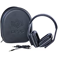 Opus Flux Over-Ear Closed Back Headphones with Mic & Volume Control