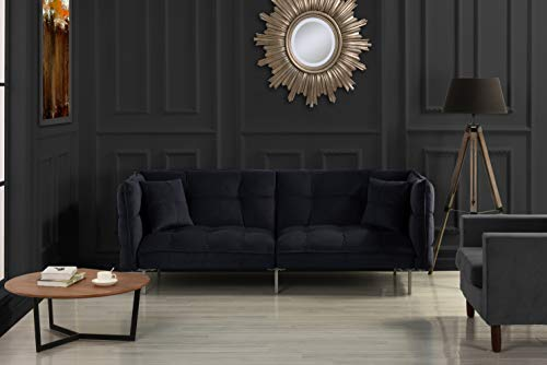 Used, DIVANO ROMA FURNITURE Collection - Modern Plush Tufted for sale  Delivered anywhere in USA