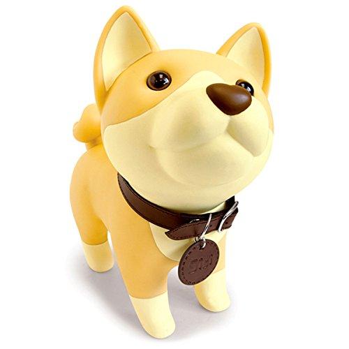 Cute Dog Piggy Bank, Shiba Inu Bank Coin Bank Toy Bank Decorative Bank Saving Bank Money Bank Dog Figurine for Boys Girls Kids Children Adult, Adorable Dog Bank by DomeStar