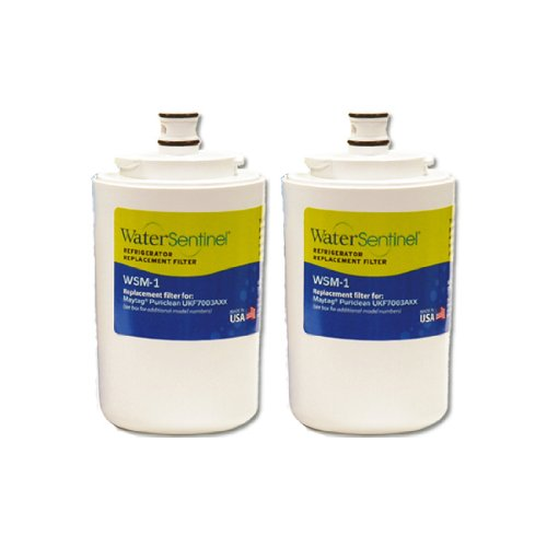 Water Sentinel WSM-1 Replacement Fridge Filter, 2-Pack