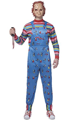 Mens Chucky Costume - ST
