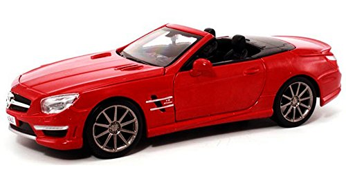 Mercedes Sl Model - Maisto 1:24 W/B Special Edition 2012 Mercedes-Benz Sl AMG 6.3L Convertible Diecast Vehicles