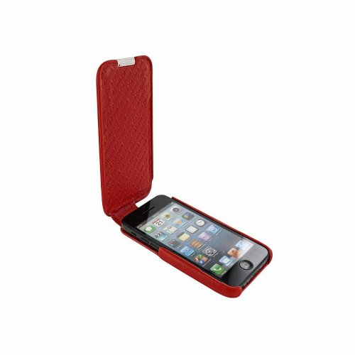 Piel Frama U638R iMagnum Ledertasche für Apple iPhone 5C rot