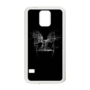 Samsung Galaxy S5 Cell Phone Case White deadmau5 black logo art music B5L2ED