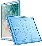 Poetic TurtleSkin iPad Pro 12.9 Rugged Case Heavy Duty Protection Silicone Sound-Amplification Apple iPad Pro 12.9 (1st Gen 2015) / iPad Pro 12.9 (2nd Gen 2017) Blue